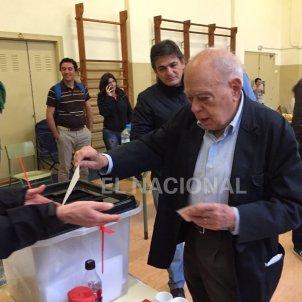 Jordi Pujol votant