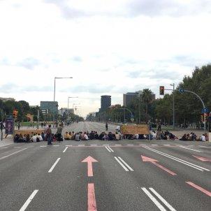 Manifestació zona universitaria / BA