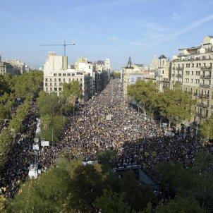 manifestació-aturada-plaça-universitat Laura Gómez
