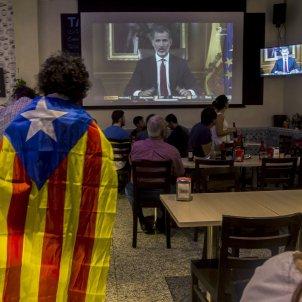 Discurs rei - estelada - aturada general / EFE (Quique García)