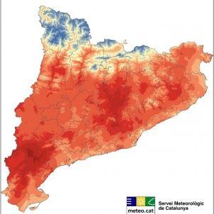 Temperatures 4 de setembre