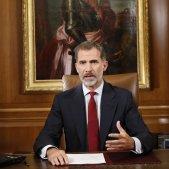Rei Felipe VI discurs referendum