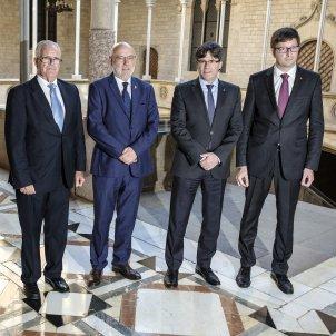 Puigdemont Fiscal Maza i conseller Mundo Sergi Alcazar