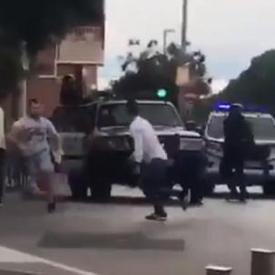 guardia civil atropella cotxe
