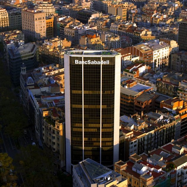 Oficinas banc sabadell barcelona la nueva sede social del - Oficinas banc sabadell barcelona ...