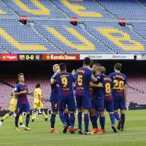Barça Las Palmas celebracio gol   EFE