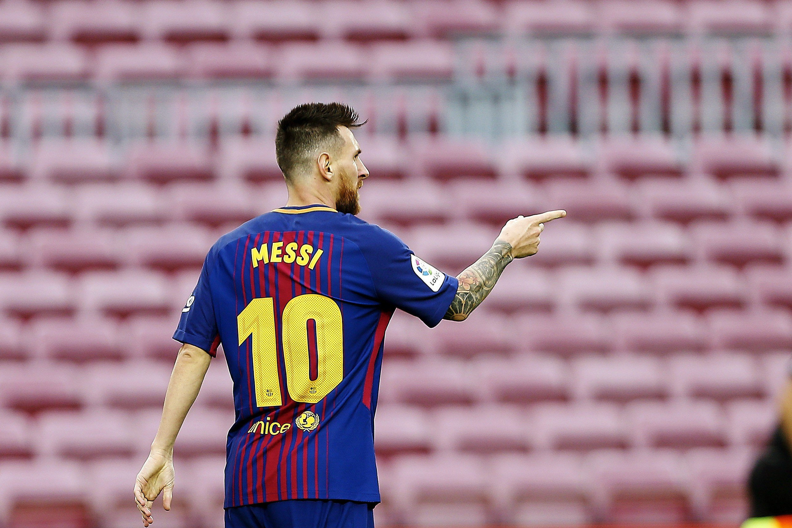 Leo Messi gol Barça Las Palmas   EFE