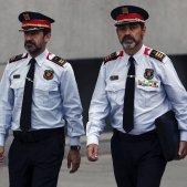 Trapero, López i Molinero Audiencia Nacional -EFE
