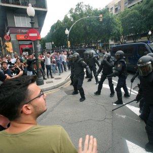 Policia Nacional Tarragona 1-O - Efe