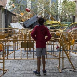 1-O referendum barricada Escola industrial - Sergi Alcazar