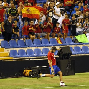 Gerard Piqué entrenament seleccio espanyola Alacant   EFE