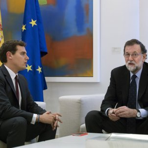 Rajoy i Rivera EFE