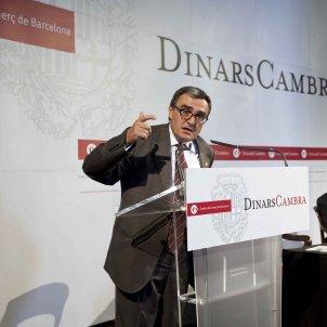 Àngel Ros, Dinar Cambra amb l'Alcalde de Lleida, 18 de juliol de 2011