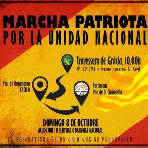 falange manifestació espanyolista   Twitter