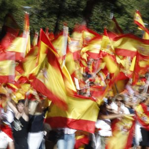 Banderes espanyoles Madrid - EFE