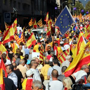 Manifestació espanyolista - ACN