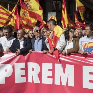 Manifestació espanyolista Barcelona - EFE