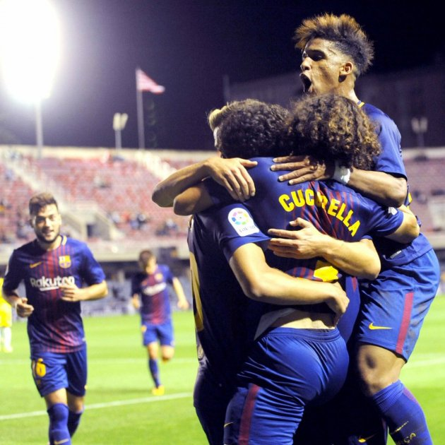 Barça B Miniestadi Alcorcon   EFE