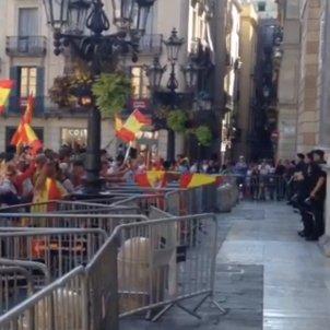 escarni espanyolista plaça sant jaume
