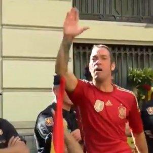 salutació nazi policia nacional