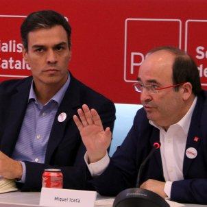 Pedro Sánchez Miquel Iceta ACN