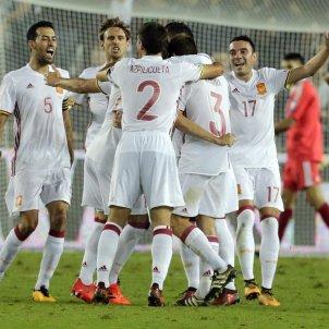 Selecció espanyola futbol Efe