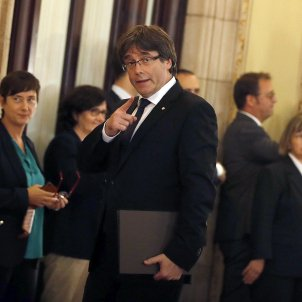 puigdemont declaracio parlament efe