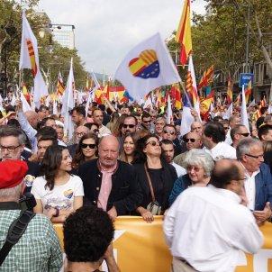 Manifestacio unionista roberto Lazaro