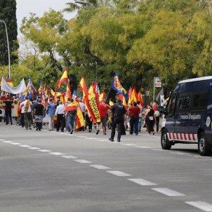 Manifestació ultra Montjuïc 12-O / Sergi Alcàzar