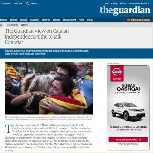 the guardian catalunya 12 octubre