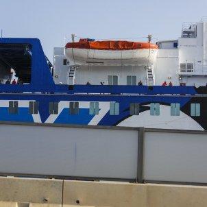 vaixell mobydada port barcelona guardia civil policia -  sergi alcàzar