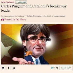 carles puigdemont, personatge de la setmana del Financial Times / EN