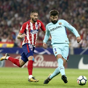 Piqué Atletic de Madrid Barça EFE