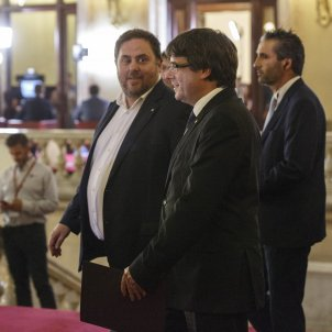 Puigdemont Junqueras DUI Parlament - Sergi Alcàzar