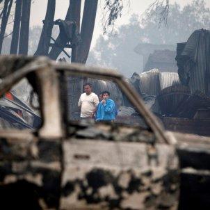 Incendio de Galicia octubre 2017 / EFE