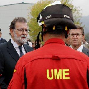 Rajoy Feijoo incendis Galicia
