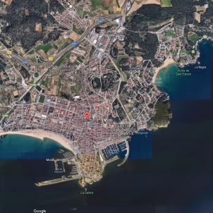Palamós google maps