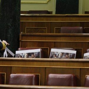 Congres Diputats escons ERC Cuixart Sanchez - Efe