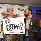 cartell llibertat jordis mauri alcoberro anc omnium - sergi alcazar
