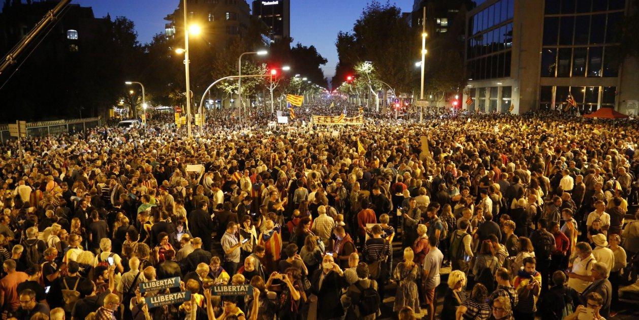 Concentracio Llibertat Jordis Barcelona - Sergi Alcazar