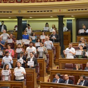 cartells congrés llibertat Sànchez i Cuixart ACN