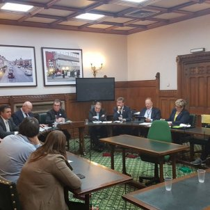 Westminster Catalunya debat 1 O @GavNewlandsSNP