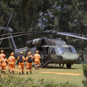 accident helicòpter colombia efe