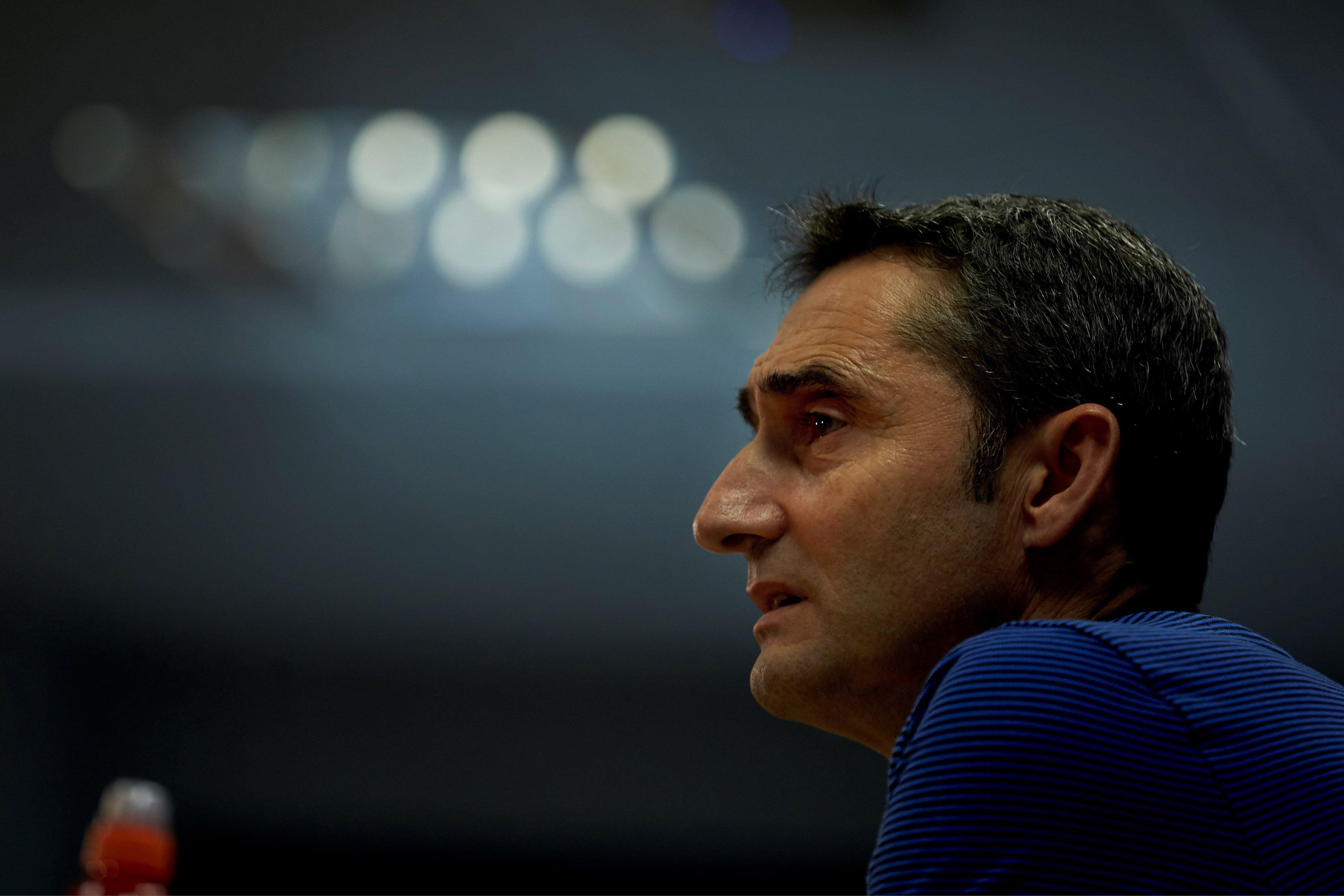 Ernesto Valverde roda de premsa Barça Champions Olympiakos   EFE