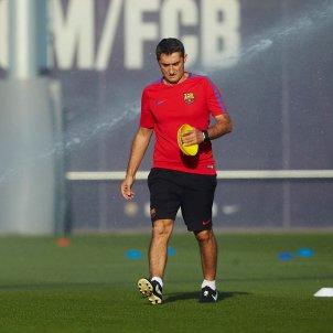 Ernesto Valverde entrenament Barça Ciutat Esportiva   EFE