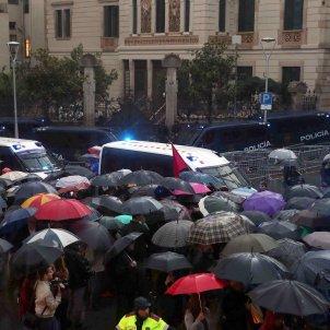 manifestació CUP delegacio govern espanyol - EFE