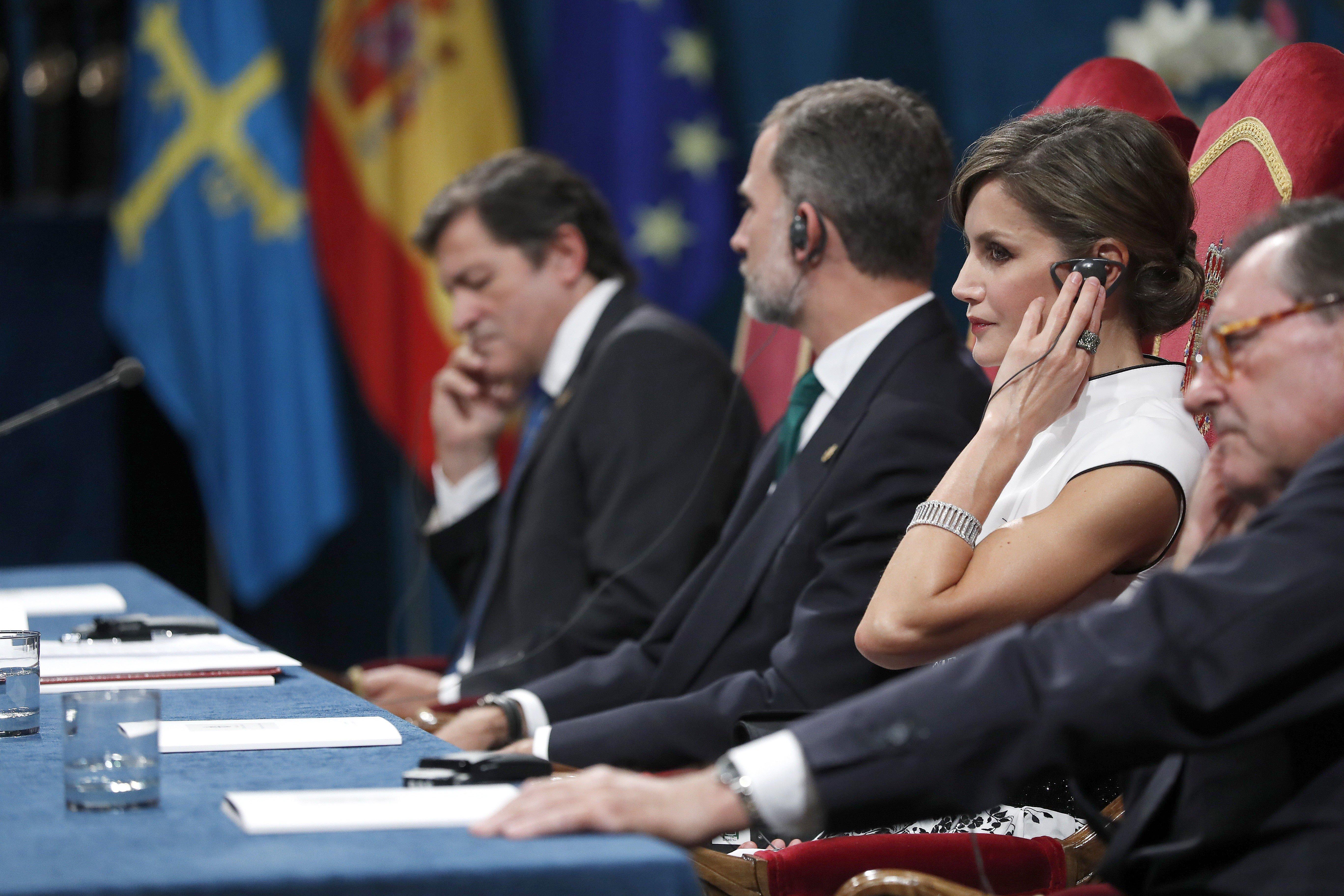 Leticia premis Princesa Asturies EFE