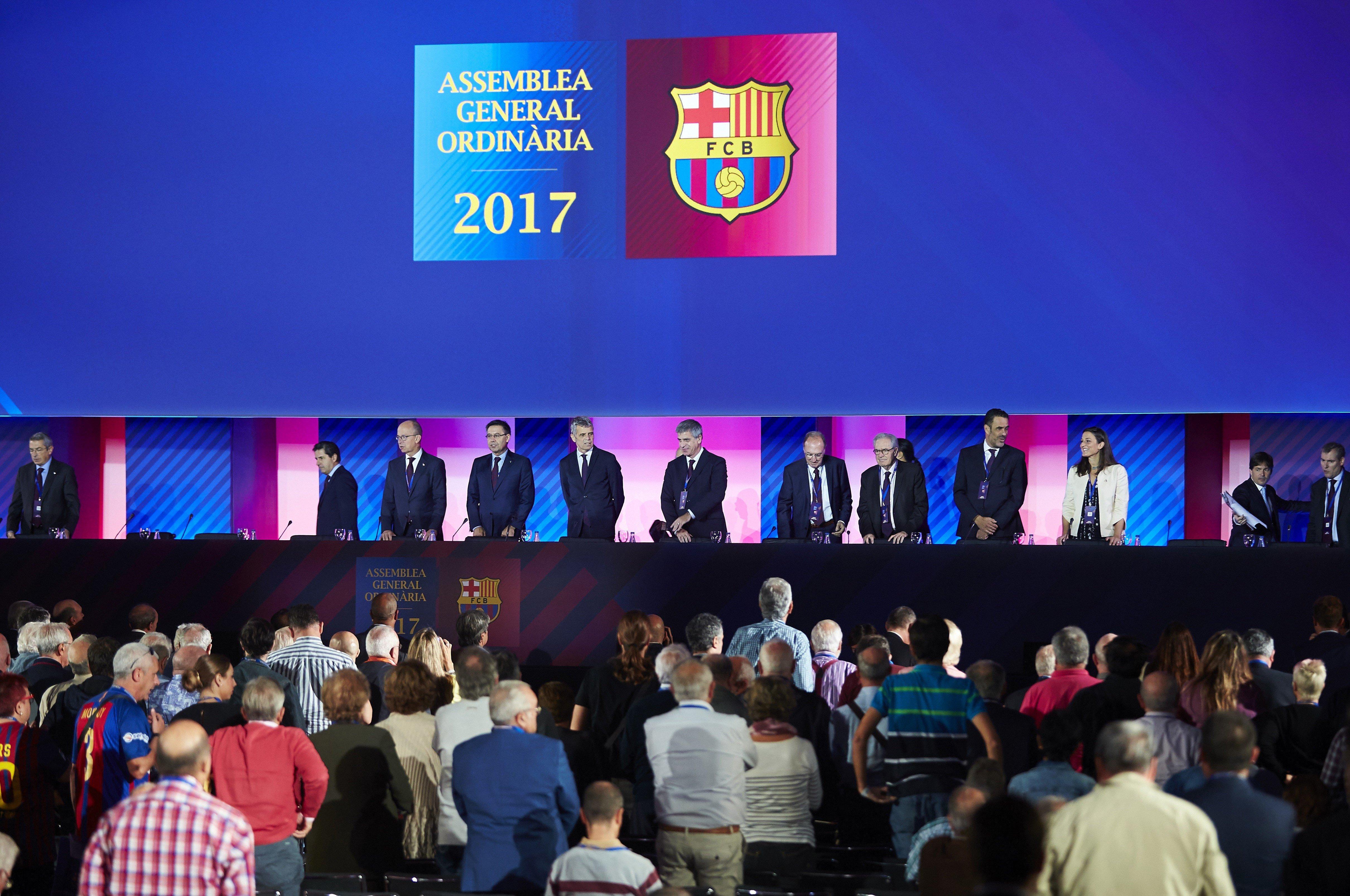 Assemblea Ordinària General Barça EFE