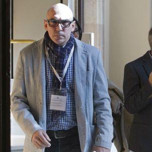 Manuel Barbero, el pare que va denunciar el cas Maristes, al Parlament