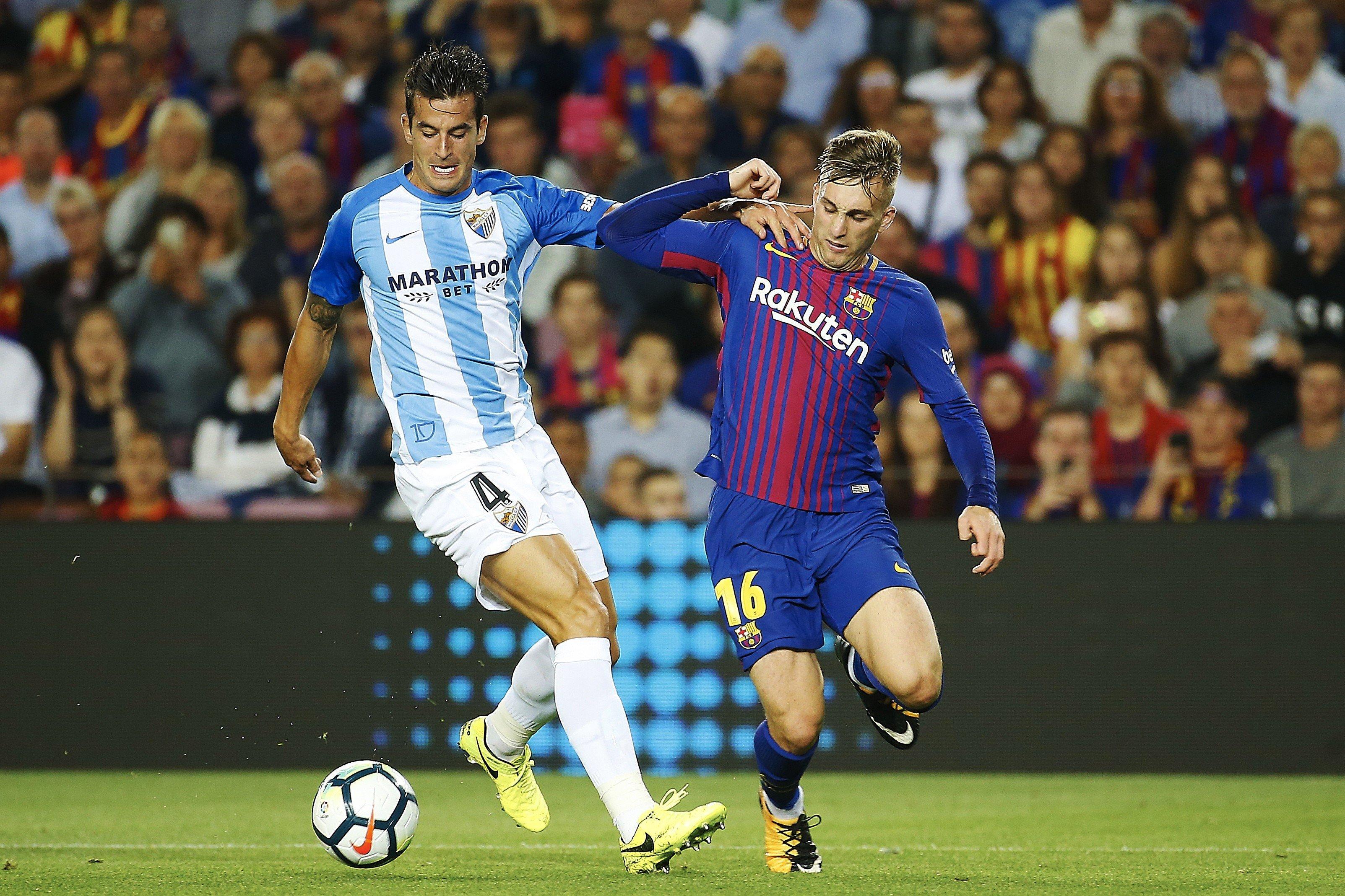 Deulofeu Luis Hernández Barça Màlaga Efe